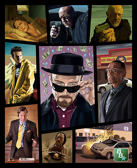 Breaking Bad Grand Theft Auto Design By Tonyldesigns Breaking Bad Art Breaking Bad Bad Art
