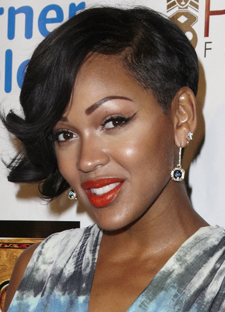 Meagan Good Short Hairstyles Cool Hairstyles Hair Styles African Braids Hairstyles Pictures