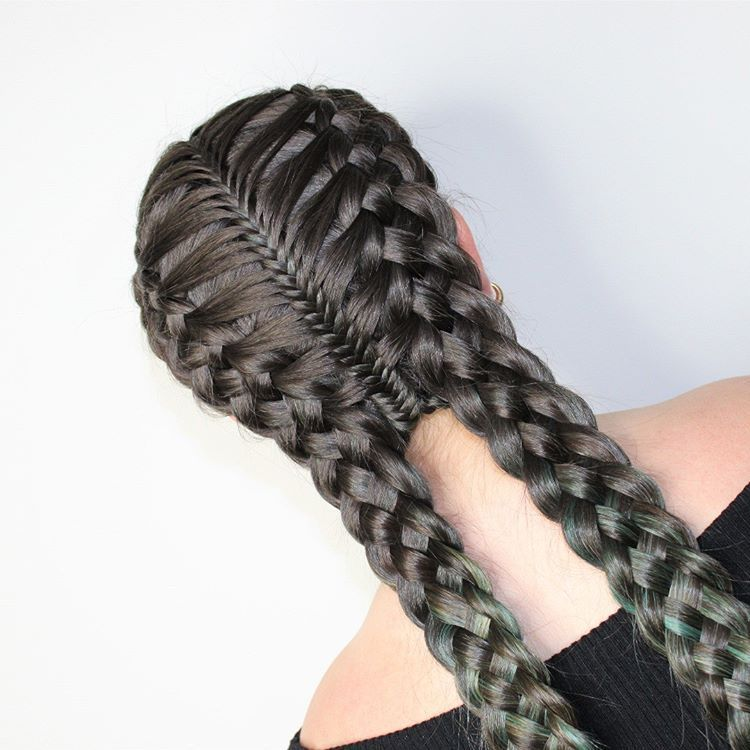Hairstyle Of The Da Hairstyle Langhaarfrisurenflechten Hair Styles Braids With Extensions Braided Hairstyles