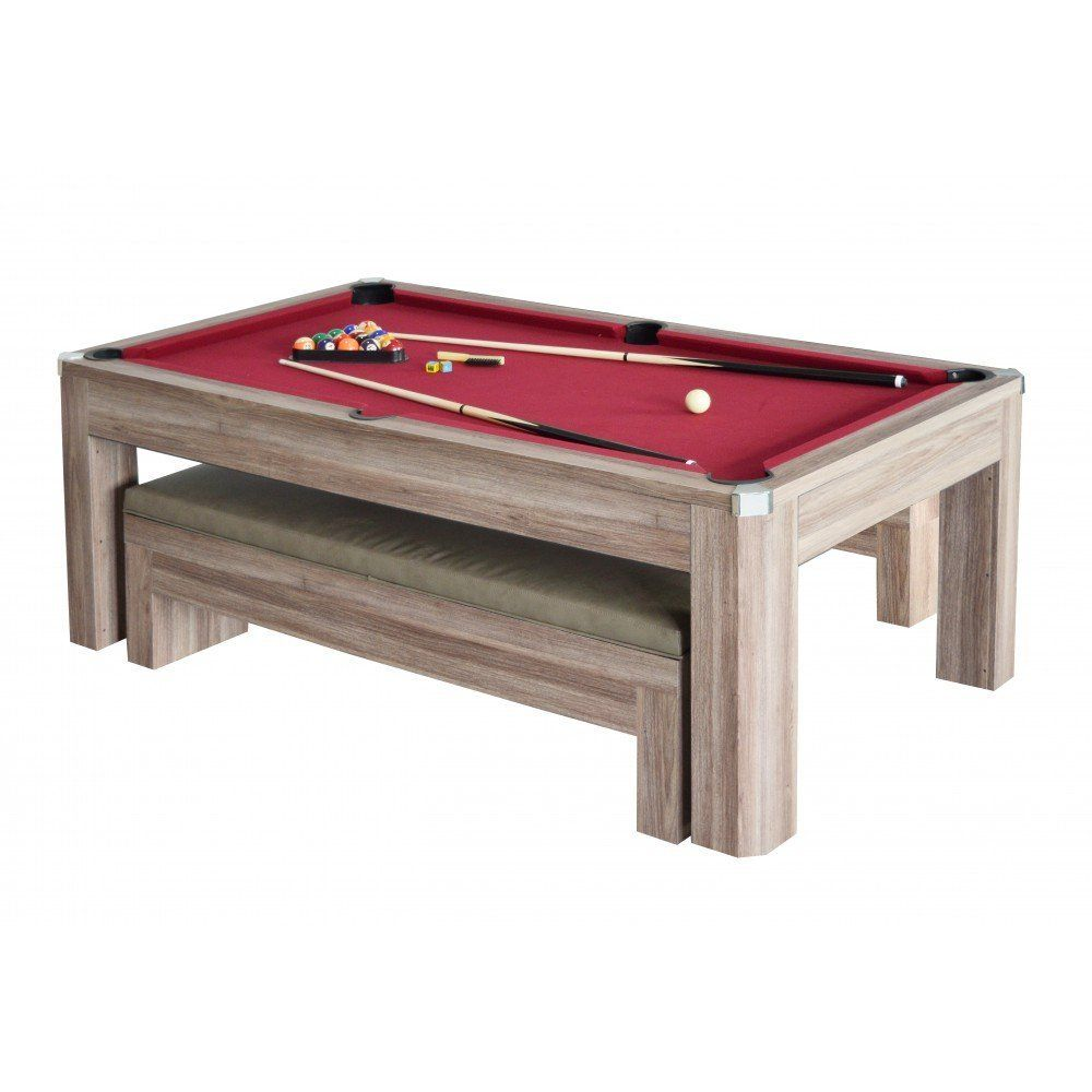 Pool Table Dining Room Table: Carmelli NG2535P Newport 7' - Outdoor Pool Table