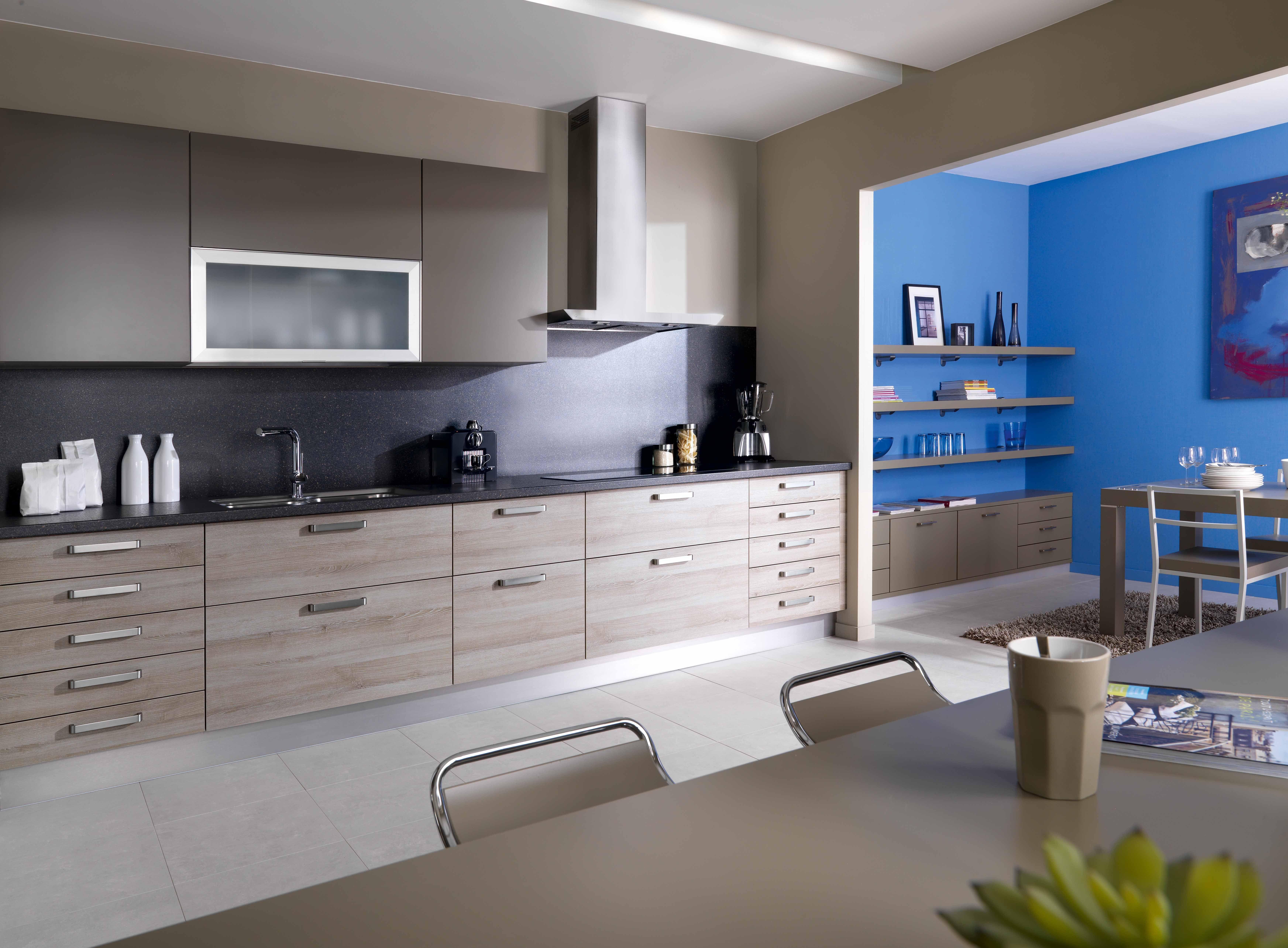 Schmidt keuken type arcos in de kleur stone oak מטבח