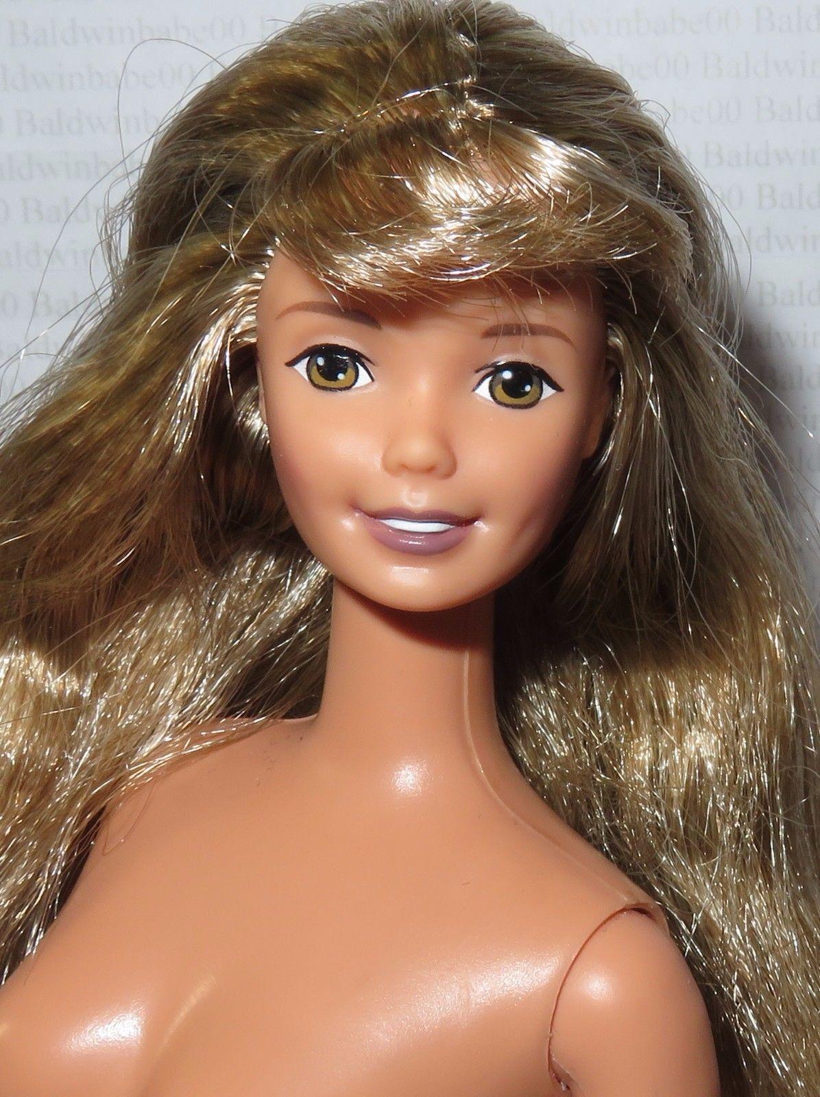 Find great deals on ebay for barbie hair extensions doll barbie light - Nude Barbie Brunette Blonde Brown Eyes Calvin Klein Superstar Doll For Ooak Ebay