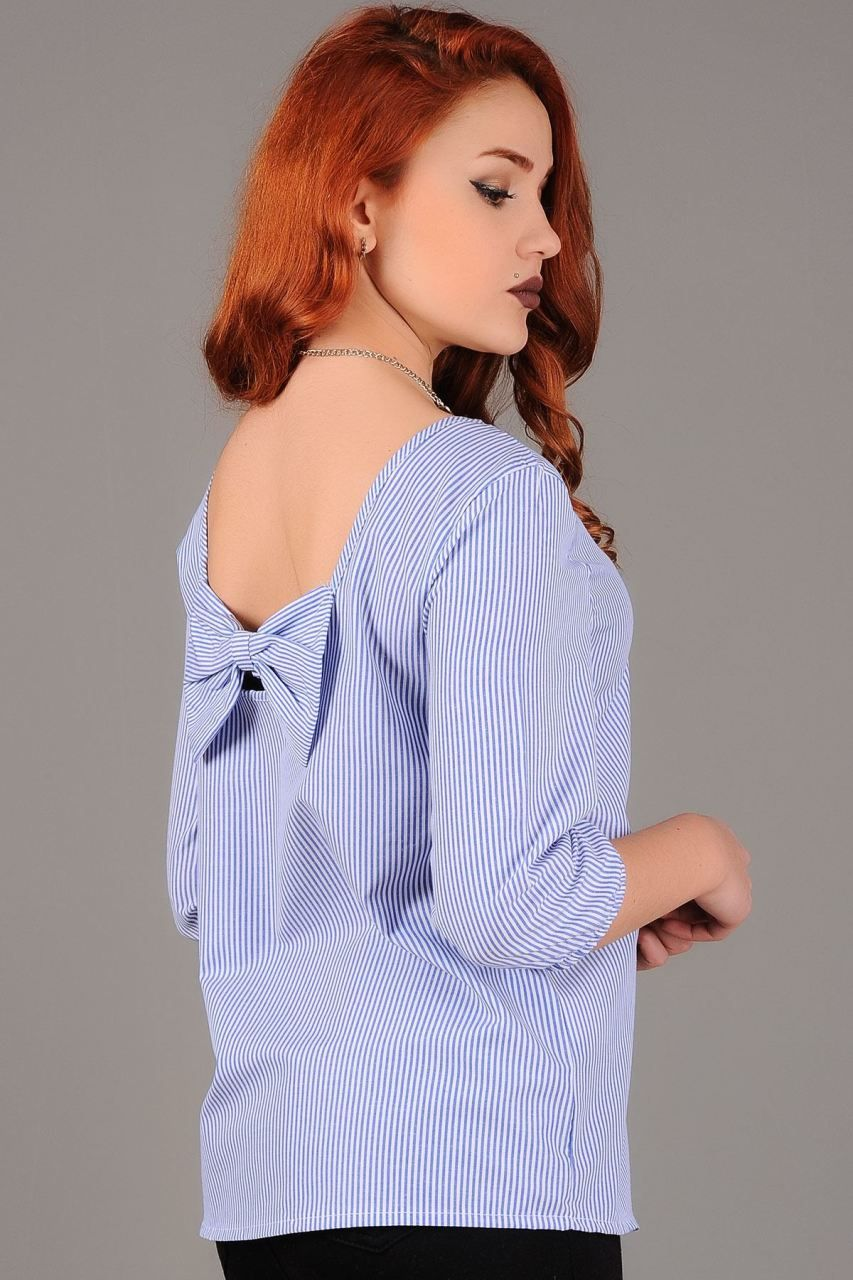 Pin By Modavigo On Bayan Gomlek Fashion Cold Shoulder Dress Ruffle Blouse