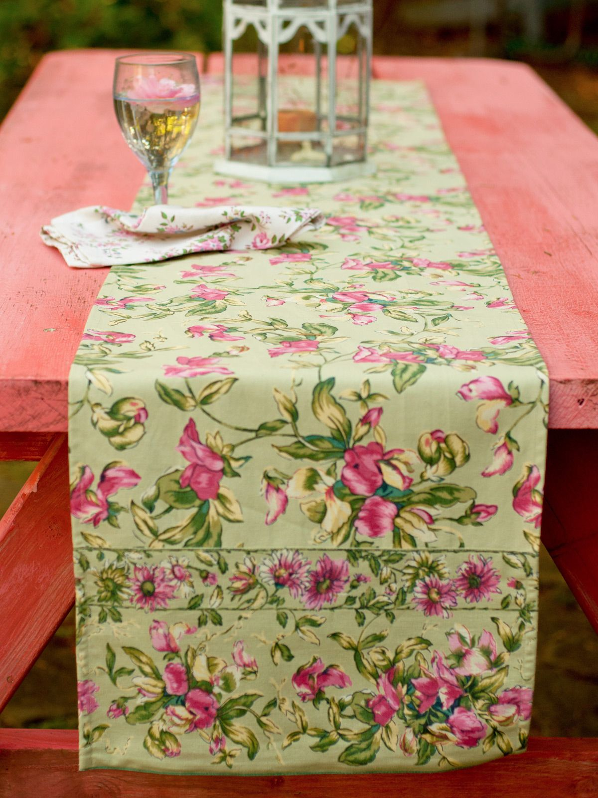 Take A Look At This Peridot Sweet Pea Table Runner By April Cornell On Today