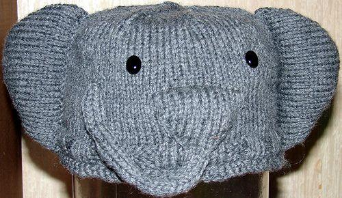 Cute!! | Elephant hat, Knitting projects, Crochet hats