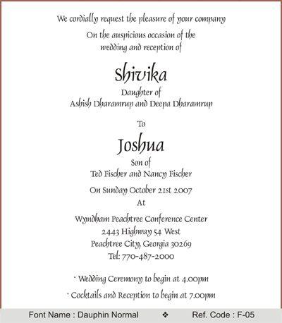 wedding invitations wording google search - Indian Wedding Invitation Wording