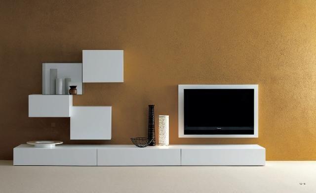Mueble salón estilo minimalista
