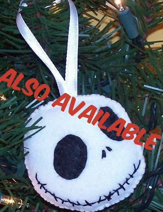 Nightmare before Christmas Sally felt ornament was completely hand - the nightmare before christmas decorations