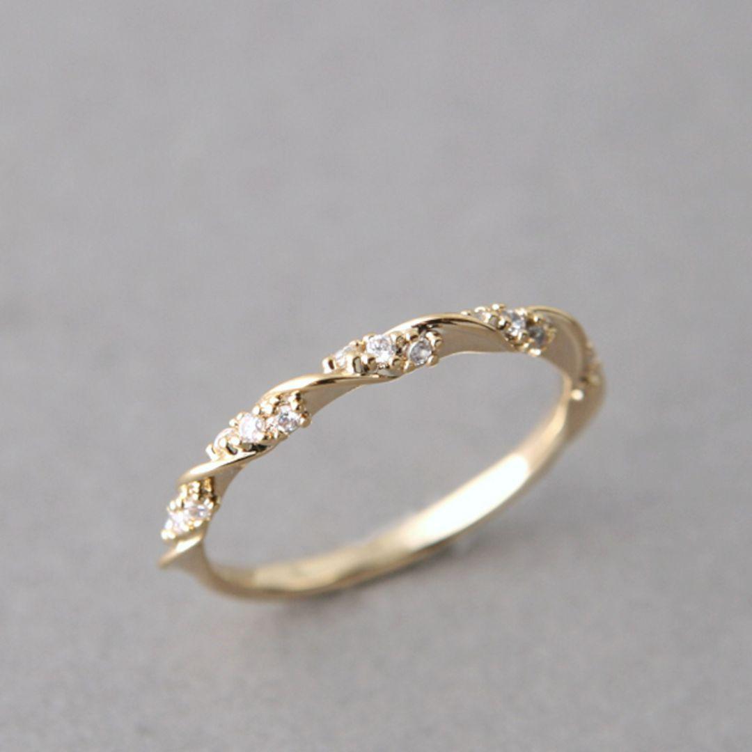 Simple Gold Engagement Ring Weddings Pinterest Engagement