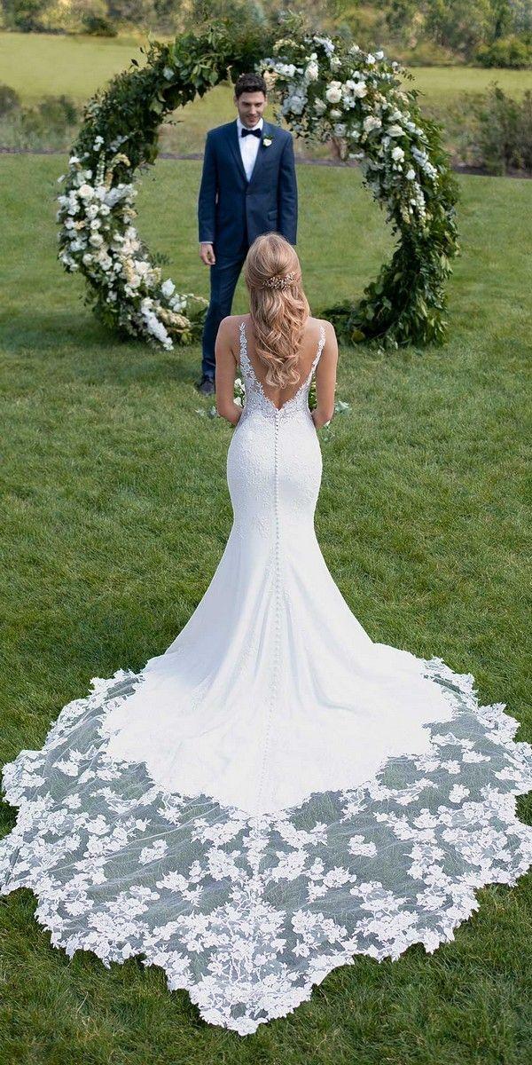 Photo of Wedding Dresses Trumpet >> 20 Stunning Trumpet & Mermaid Wedding Dresses | Wedding dresses Tr …
