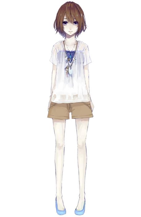 manga girl female body pose reference