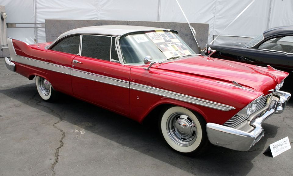 30 famous cars from movies, TV shows | Plymouth fury, Plymouth and ...