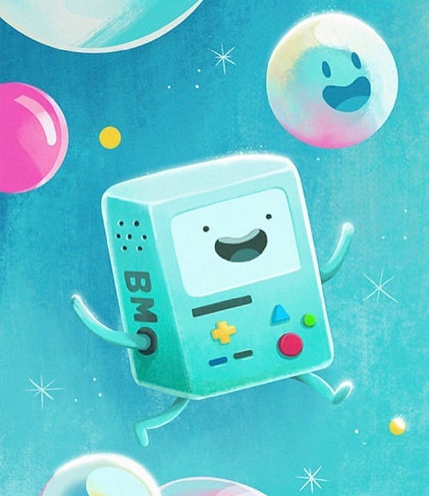 Bubble Bmo Why Does Apple Not Have A Bubble Emoji Like Come One I Need One Badly And Also Adventure Time Wallpaper Adventure Time Art Adventure Time