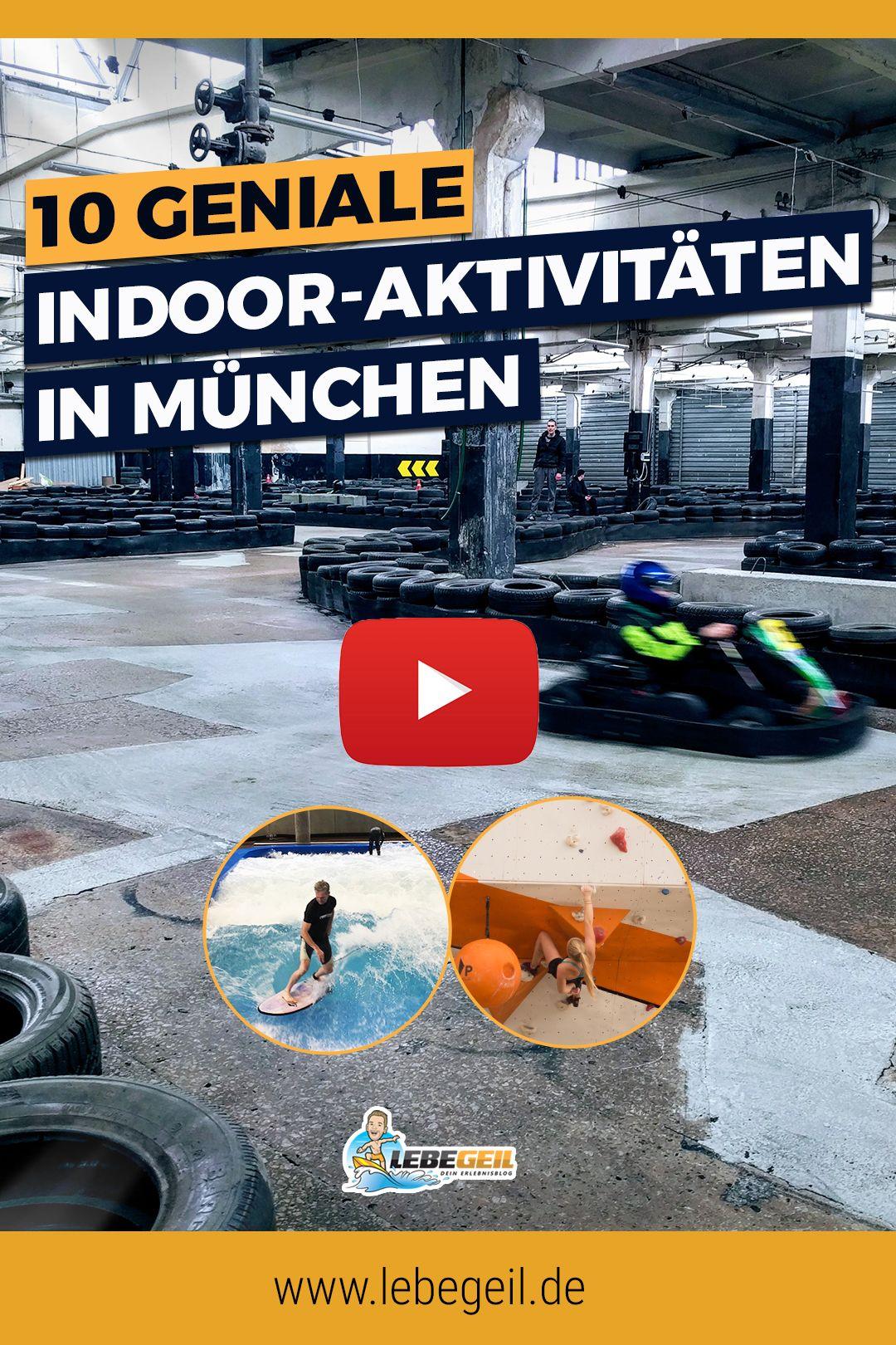 10 geniale Indoor-Aktivitäten in München | Aktivitäten bei schlechtem wetter, München bei regen