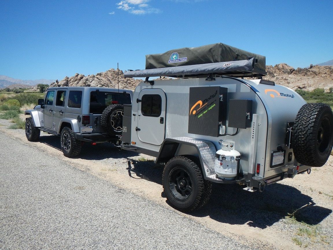 10A Rubicon and Moby1 Expedition Trailer #Jeeps | JEEP CAMPERS
