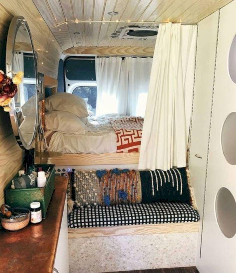34 Small Camper Van Interior Ideas On A Budget Homefulies Van