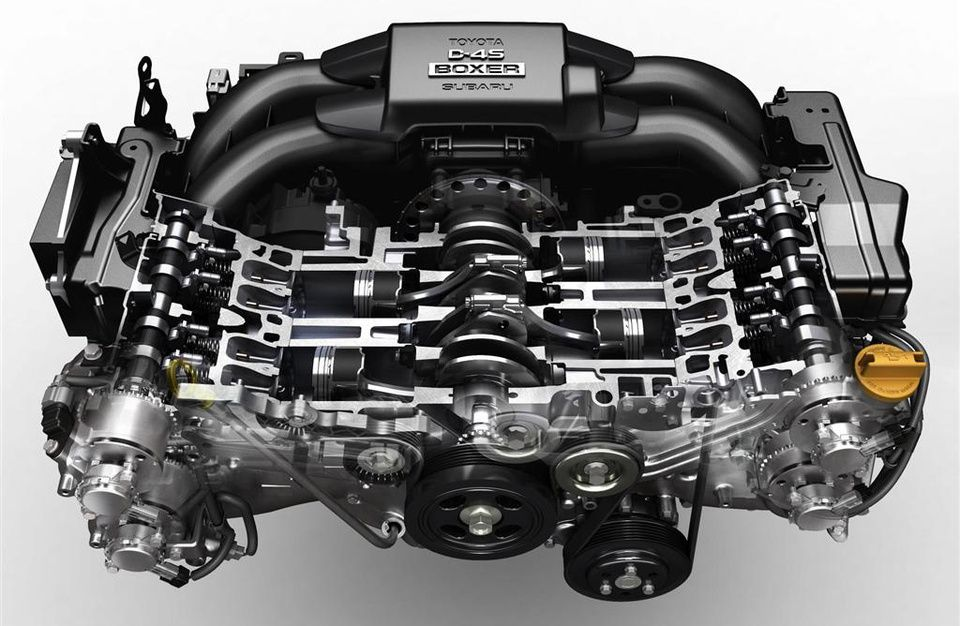Toyota GT86 Engine GT86 / FR-S / BRZ Toyota 86, Engineering, Toyota