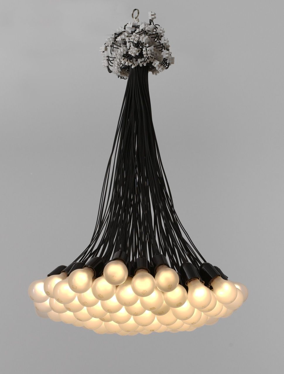 Rody graumans 85 lamps chandelier for droog design chandeliers rody graumans 85 lamps chandelier for droog design aloadofball Choice Image
