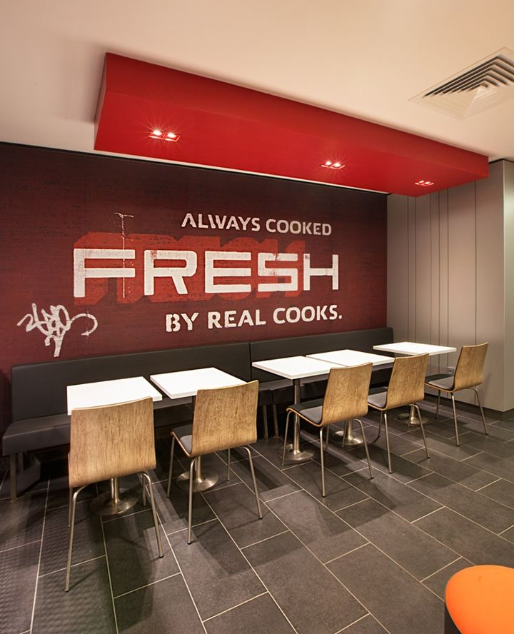 Kfc restaurant by cbte mimarlik turkey retail design