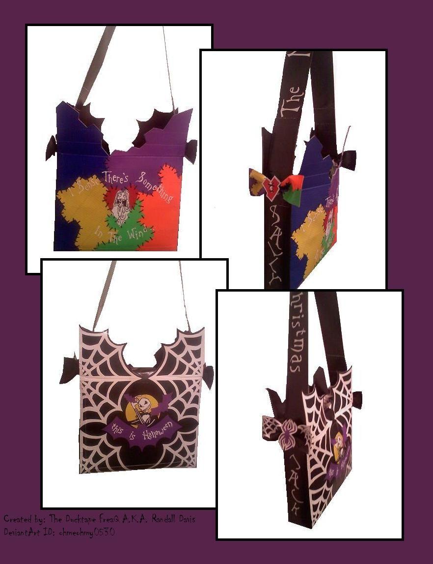 Ducktape Nightmare bag 2 by ohmeohmy0530.deviantart.com on ...