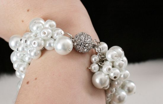 Diy Chanel Inspired Pearl Bracelet Pearl Bracelet Beaded
