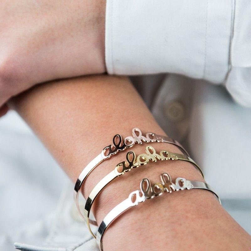 Bracelet en Argent Plaqué Or Rose