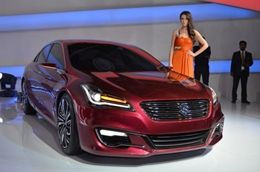 new car launches at auto expo 2014Maruti Suzuki Ciaz Concept new car launched at Auto Expo 2014