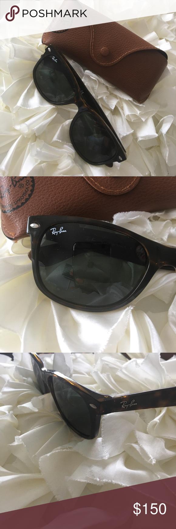 5a7bea7acb Ray Ban New Wayfarer Sunglasses NWOT Ray Ban Sunglasses