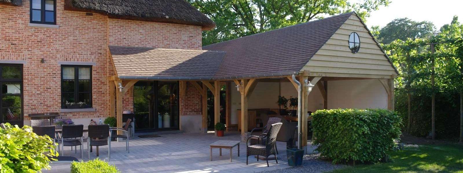 Zou u graag wat meer ruimte in huis willen hebben maar wilt u geen standaard aanbouw van steen - Bijvoorbeeld huis modern ...
