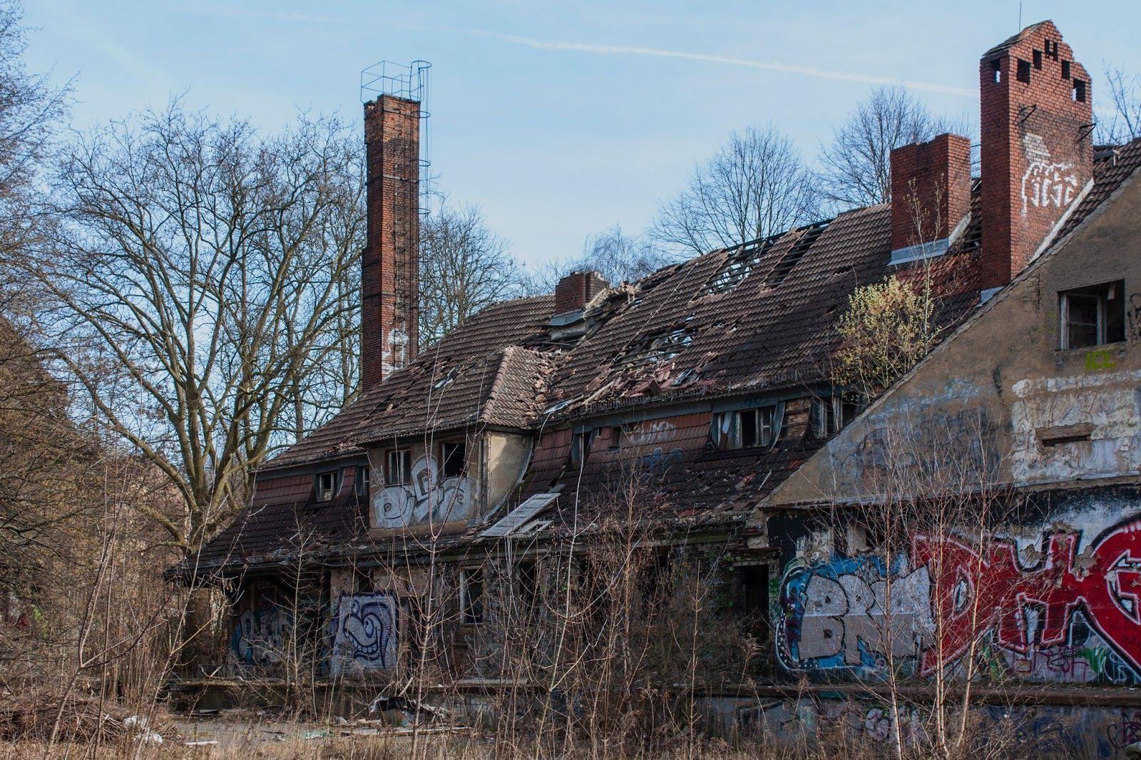 Lost Places Berlin / verlassene, gruselige Orte