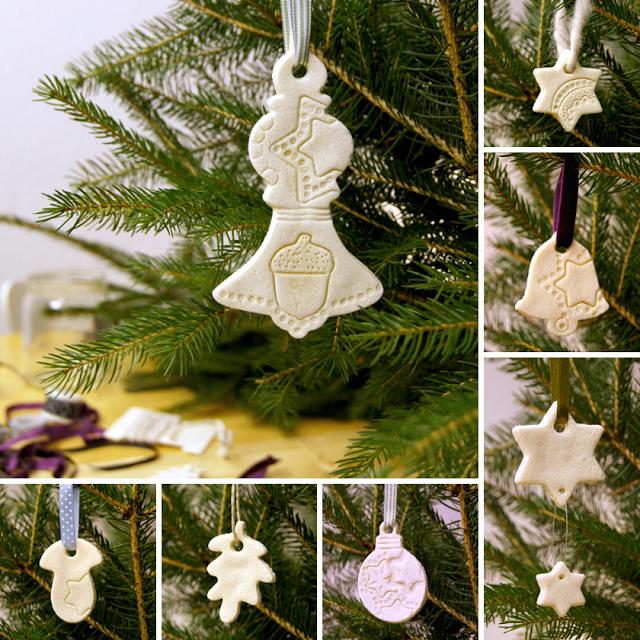 Christbaumschmuck Aus Salzteig Christmas Tree Decoration Made Of