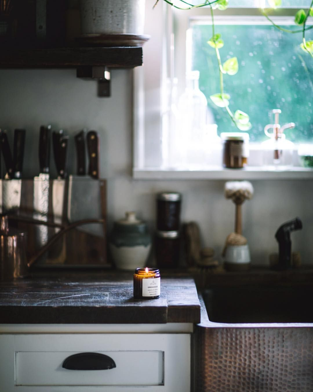 Rustic kitchen window decor  pin by evasee on for the home  pinterest  rustic kitchen and kitchens