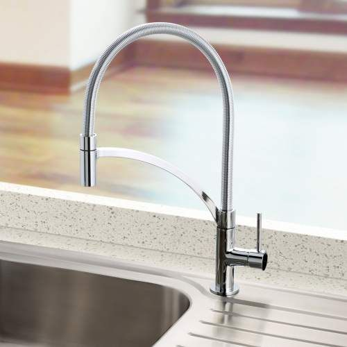 Bluci ARCO Pull-Out Hose Single Lever Professional Tap | Taps, Lever ...