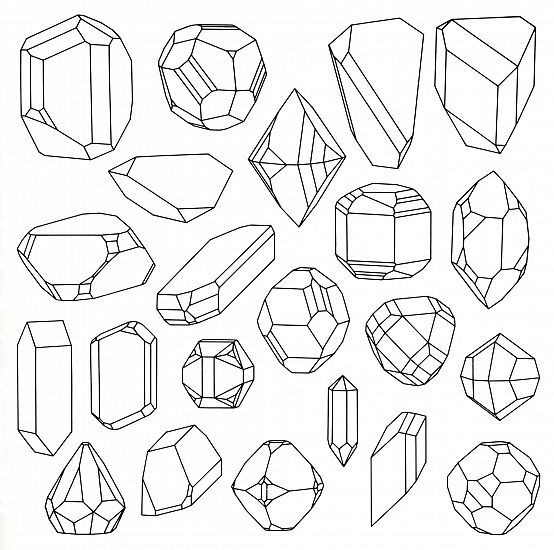 Doodle Moms coloring pages Crystal illustration