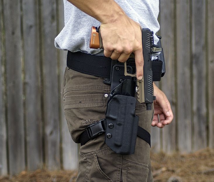 Drop Off Set Action Sport Holster Tactical Holster Tactical