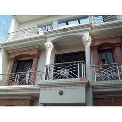 Stainless Steel Front Balcony Railings in Delhi, Delhi, India Jain ...