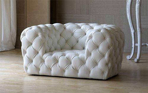 Tufted leather sofa Sièges originaux \/ cool seats Pinterest - stuhl für schlafzimmer
