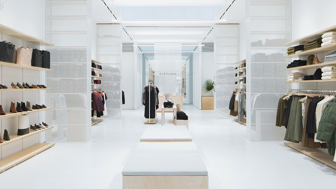 This Web Page Could Not Be Loaded Store Design Everlane New York Soho