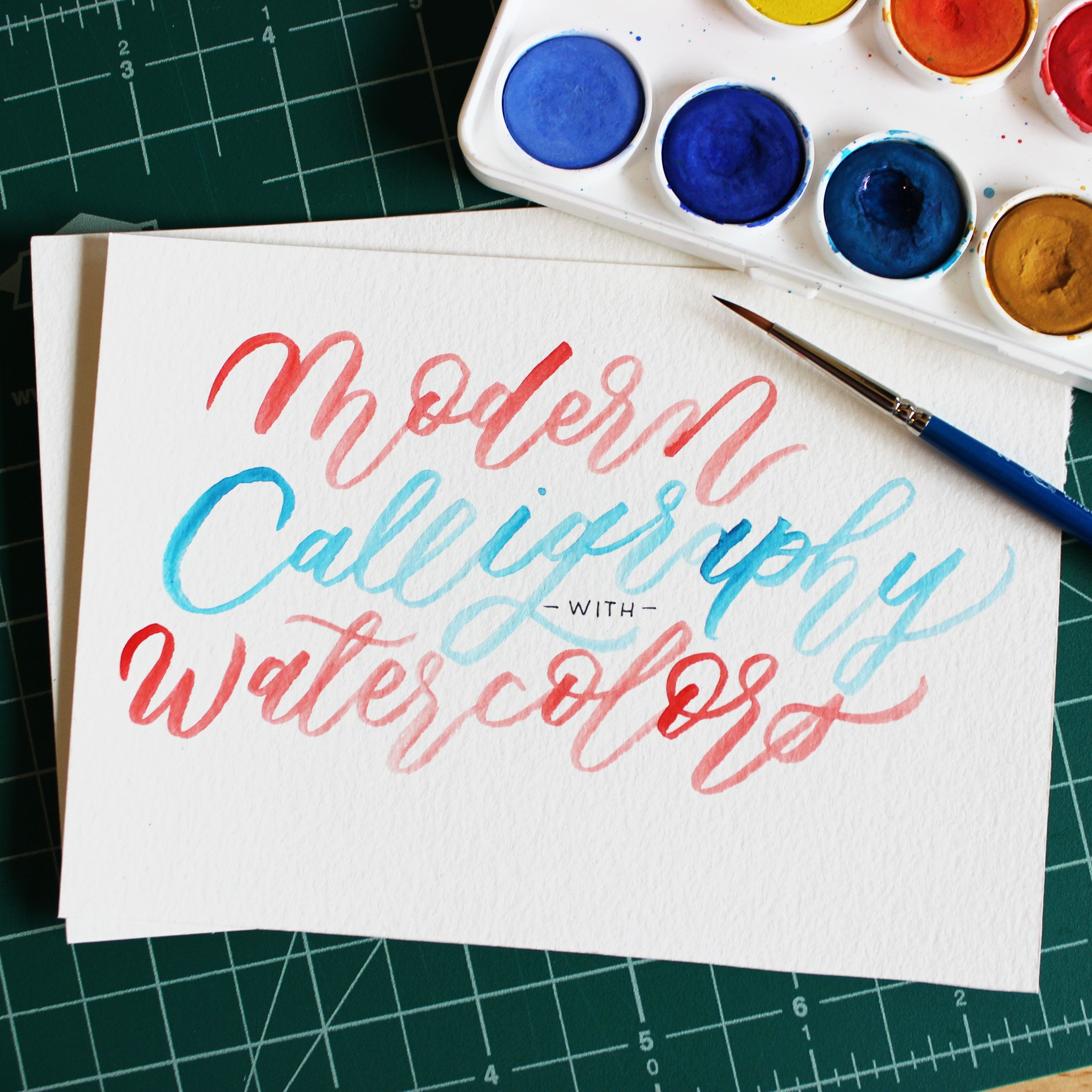 Spend A Fun Afternoon Learning How To Use Watercolors To Create
