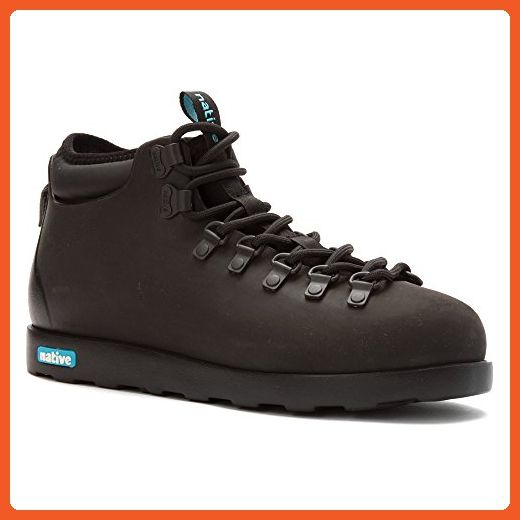 1add327777cf4 Native Women's Fitzsimmons Boot Rain Boot, Jiffy Black/Jiffy Black ...