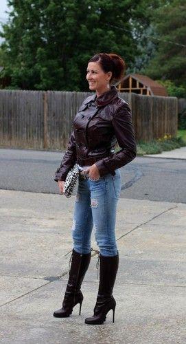 Kenna-T~Patent Leather Belted Moto Jacket~Burgundy~M~$650 **SUPER RARE**