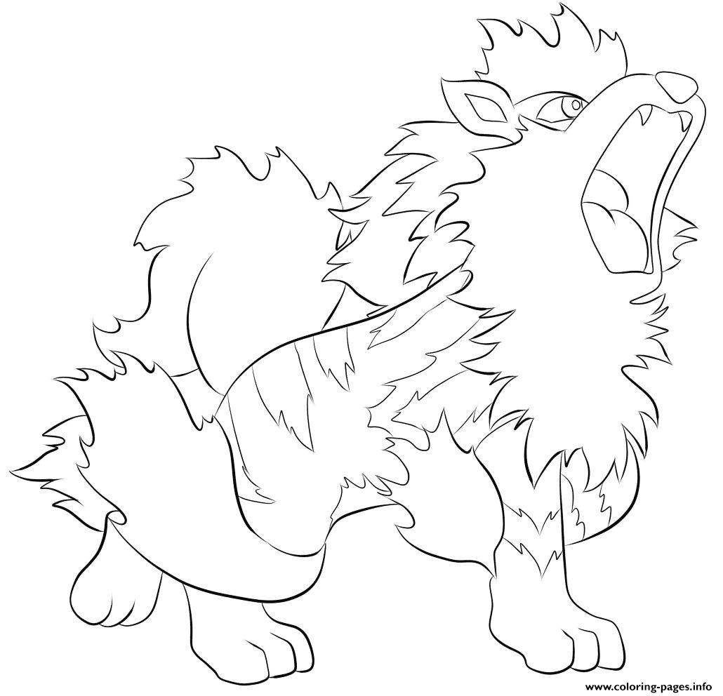 Pokemon Coloring Pages Arcanine Coloring Pages Allow Kids To Accompany Their Favorite Characters On A Pokemon Coloring Pages Pokemon Coloring Coloring Pages