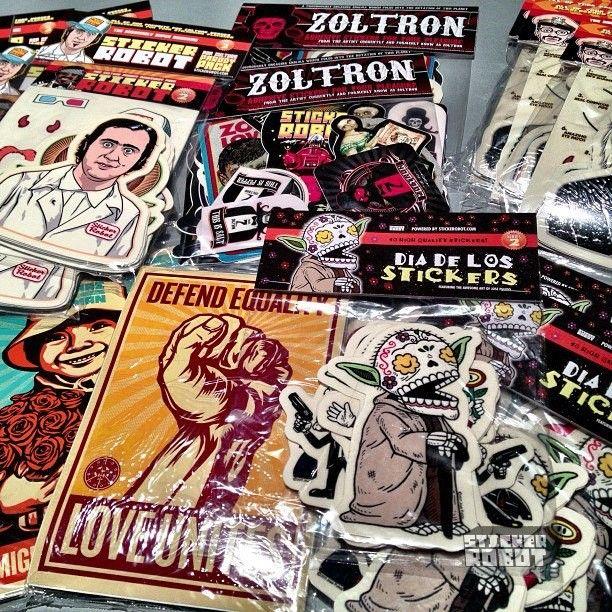 Custom made sticker packs