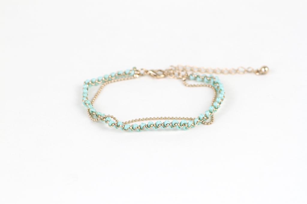 Braided Layer Bracelet | Moorea Seal