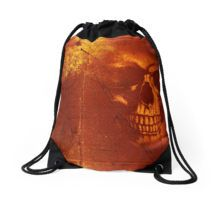 Fire Skull Drawstring Bag by Scar Design #totebag #buytotebag #bag #gifts #buygifts #giftsforher #groceries #shopping #shoppingbag #buybag #buytotebag #cool #coolgifts #accessories #womenaccessories #beachtotebag #beach #beachbag #summer #summergifts #summerbag #skull #gothic #gothicbag