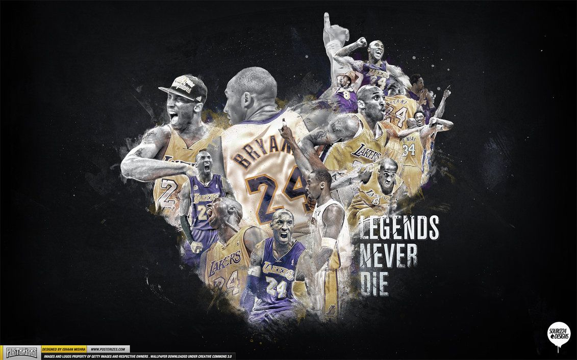Kobe Bryant Legend Wallpaper by Angelmaker666 Athletic
