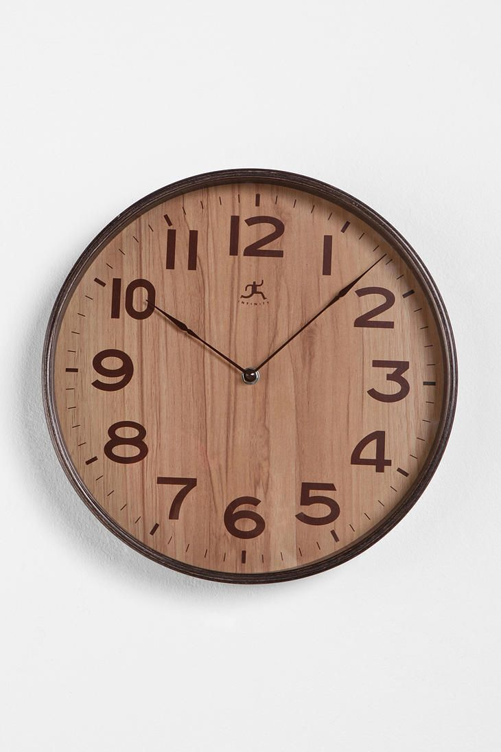 Nifty I Could Eir Use A Dollar This Would Make A Rad Present I Could Eir Use A Dollar Ikeaclock Or A Clock Kit From Michaels As Well As Some Veneer Or Thin Woodpaper This Would Make A Rad Present furniture Unique Wooden Clocks