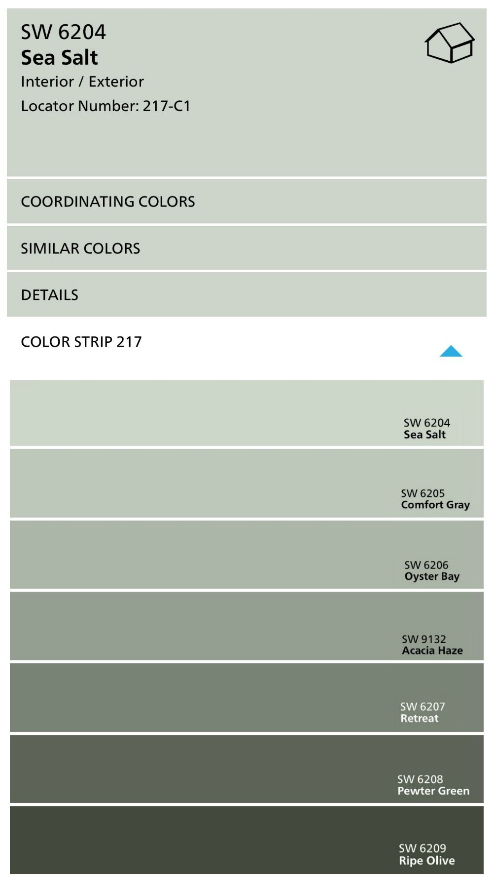 Sherwin Williams Sea Salt: Color Spotlight