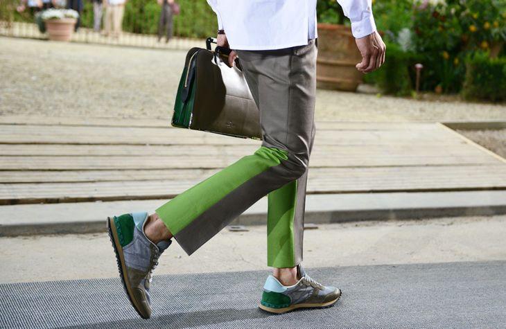 Schnitt für Herrenhose aus mehr Teilen     Schöne Farben