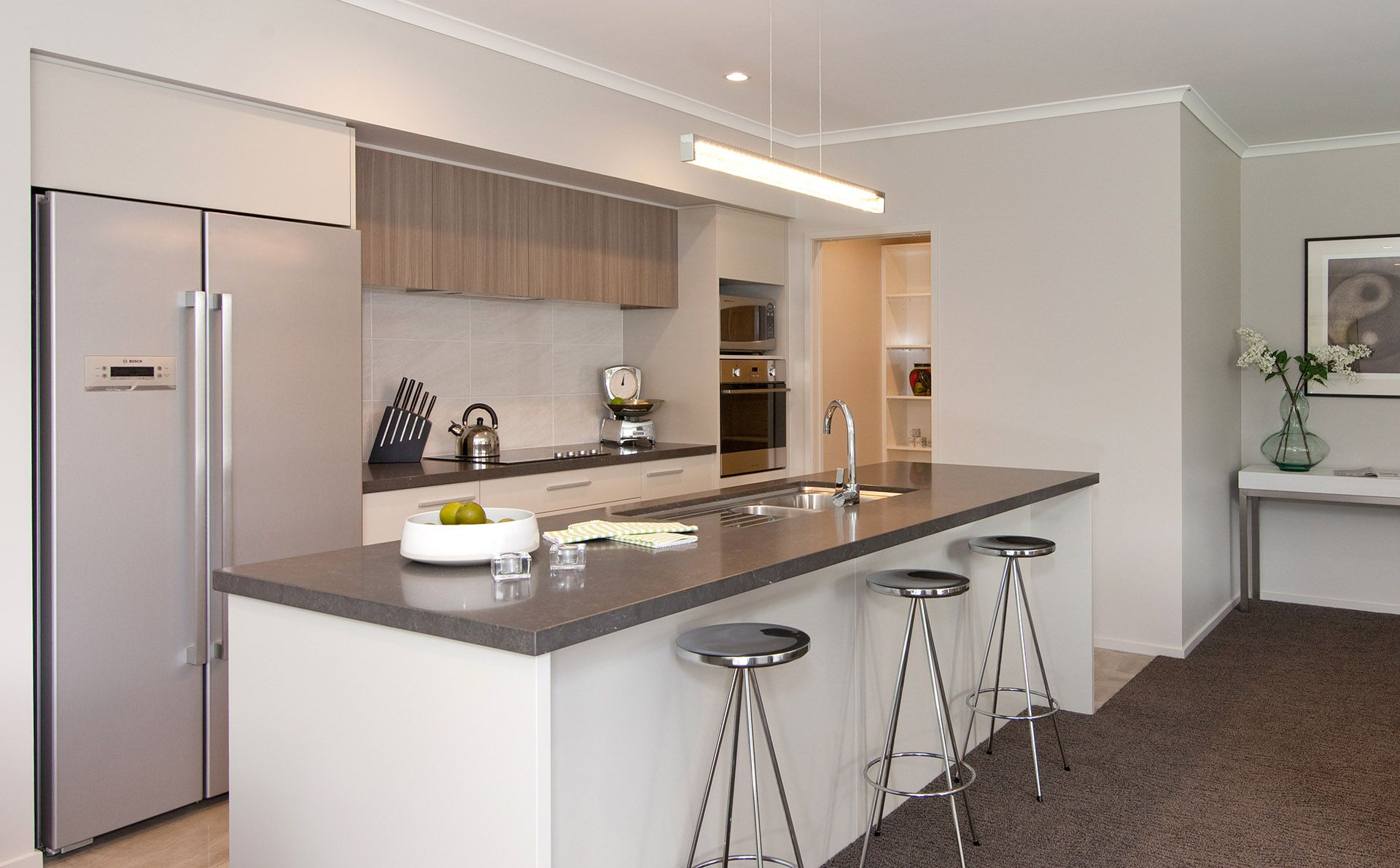 kitchen showhome g j gardner homes new zealand showhome